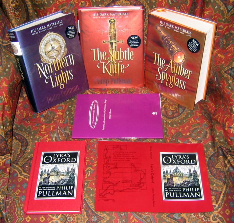 His Dark Materials, Comprised of Northern Lights, The Subtle Knife, and The Amber Spyglass....