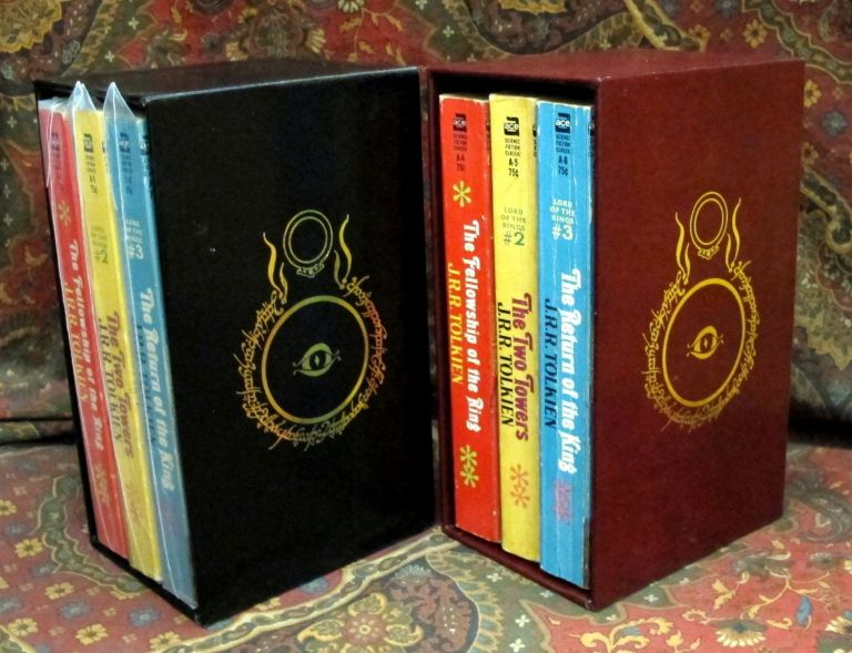 Custom Slipcase for The Lord of the Rings, US Paperback Editons. J. R. R. Tolkien.