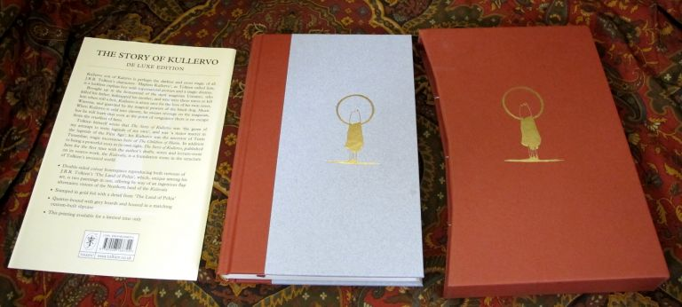 The Story of Kullervo, 1st UK De Luxe Edition with Publishers Slipcase, 1st Impression. J. R. R....