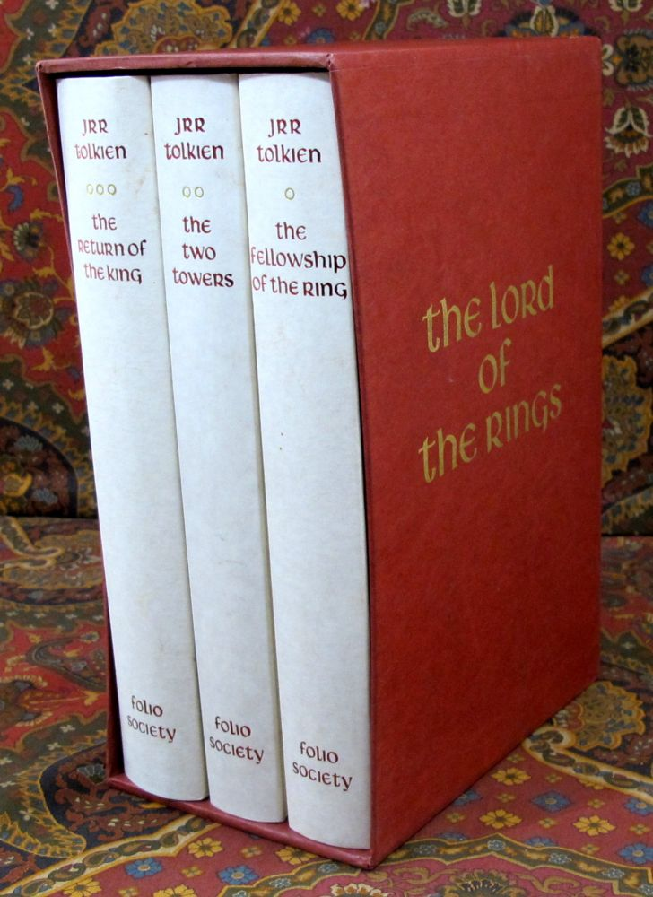 The Lord of the Rings, Published By Folio Society in 1990 with Slipcase. J. R. R. Tolkien.
