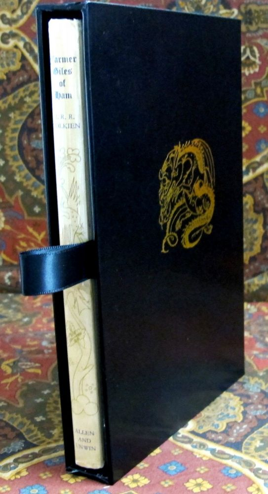 Farmer Giles of Ham, The Rise and Wonderful Adventures of Farmer Giles, Lord of Tame, Count of Worminghall and King of the Little Kingdom, in Custom Slipcase. J. R. R. Tolkien.