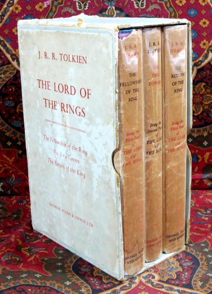 The Lord of the Rings, 1962 Allen & Unwin UK 1st Editions in Publishers Slipcase. J R. R. Tolkien.