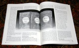 Firsts Magazine, Cover Story Featuring The Hobbit and J.R.R. Tolkien