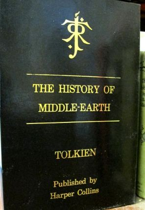 Custom Leather Slipcase for the 3 Volume History of Middle Earth