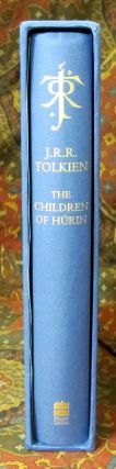 The Children of Hurin - UK Deluxe Edition, 1st Impression Signed By Alan Lee on the Title page.