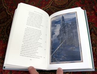 Beren and Luthien, Signed By Alan Lee, with Custom Leather Slipcase