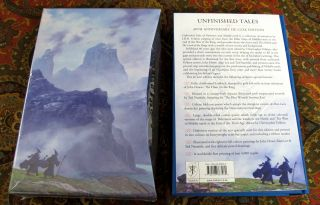 Unfinished Tales of Numenor and Middle-earth, 40th Anniversary De Luxe Edition