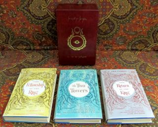 The Lord of the Rings, 1st US Edition, Early Impressions with Dusjtackets.