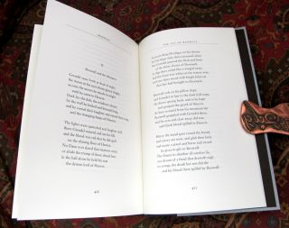Beowulf, A Translation and Commentary, Together with Sellic Spell, UK De Luxe Edition