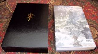The Fall of Gondolin, UK First Edition Signed By Alan Lee, with Custom Leather Slipcase