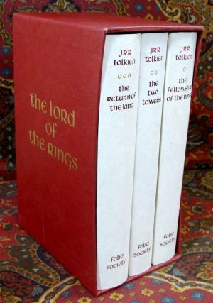 The Lord of the Rings, Published By Folio Society in 1990 with Slipcase.