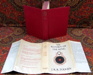 The Lord of the Rings, 1st UK Edition, 1st Impressions with Original Dustjackets., And Custom Leather Slipcase.