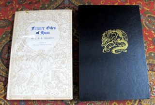 Farmer Giles of Ham, The Rise and Wonderful Adventures of Farmer Giles, Lord of Tame, Count of Worminghall and King of the Little Kingdom, in Custom Slipcase